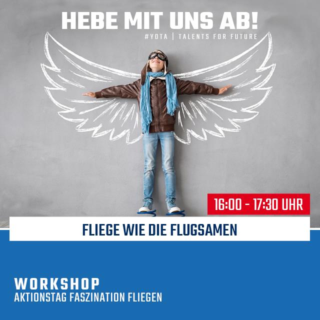 Faszination Fliegen: Fliegen wie die Flugsamen   21.02.2020   16:00 Uhr