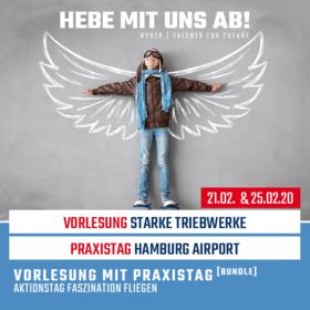 Starke Triebwerke & Hamburg Airport