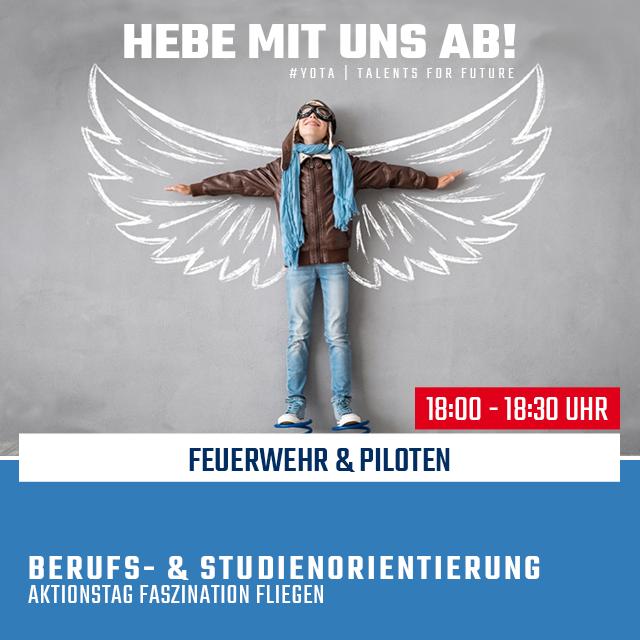 Faszination Fliegen: Feuerwehr und Piloten | 21.02.2020 | 18:00 Uhr