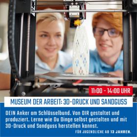 3D Druck und Sandguss