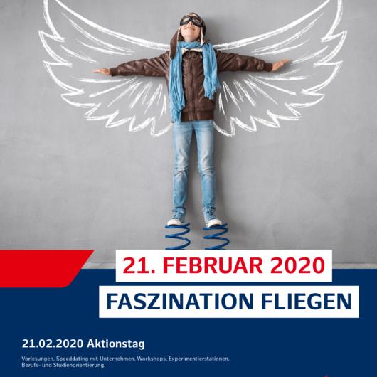 """Wissbegieriger Nachwuchs bei """"Faszination Fliegen"""" am 21. Februar"""