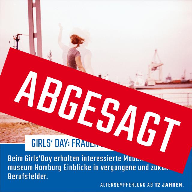 Girls' Day:  Frauen Power im Hafen | 26.03.2020 | 09:30 - 14:30 Uhr