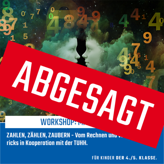 Workshop: Mathe-Zauber | 08.04.2020 | 16:00 - 17:30 Uhr