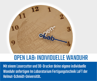 Open Lab: Individuelle Wanduhr