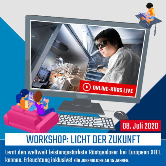 Online-Kurs [LIVE]: Licht der Zukunft [Online-Kurs]   08.07.2020   10:00 - 12:00 Uhr
