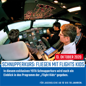 Fliegen mit Flight Kids Academy