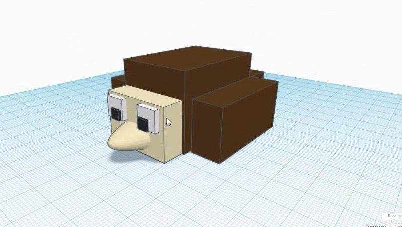 """So war unser Online-Kurs """"Deine Minecraft-Figur aus dem 3D-Drucker"""""""