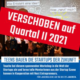 Teens bauen die Start-ups der Zukunft