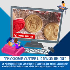 Dein Cookie-Cutter aus dem 3D-Drucker