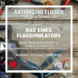 Faszination Fliegen 2021: Bau eines Flugsimulators | 12. Februar 2021 | 16:30 - 17:15 Uhr