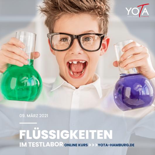 Online-Kurs [LIVE]: Flüssigkeiten im Testlabor | 09. März 2021 | 10:00 - 11:00 Uhr
