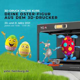 Deine Oster-Figur aus dem 3D-Drucker