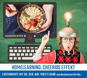 Cheerios Effekt: Wieso klumpen Müsliflocken zusammen?