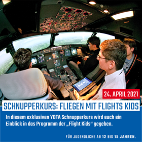 Fliegen mit Flight Kids 02