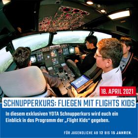 Fliegen mit Flight Kids 01