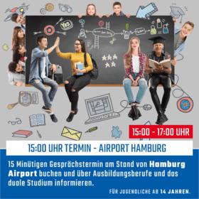 15:00 - Hamburg Airport
