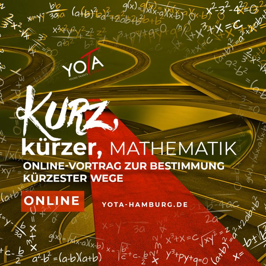 Online-Kurs [LIVE]: Kurz, kürzer, Mathematik   13. Juli 2021   16:30 - 17:15 Uhr
