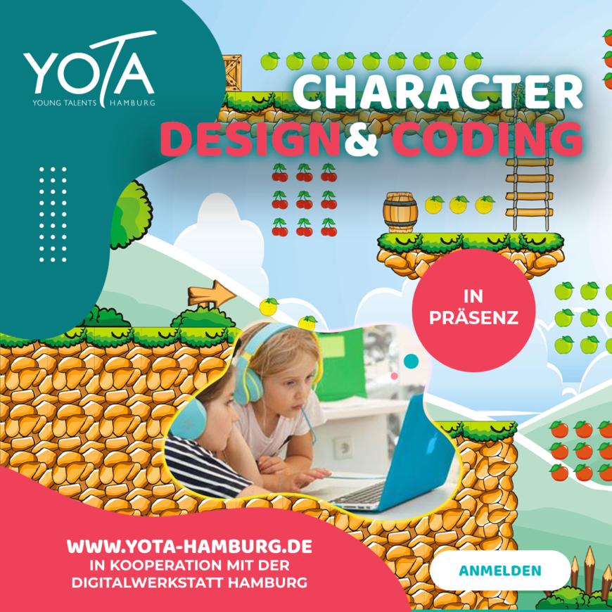 Workshop: Character Design & Coding | 17.07.2021 |  10:00 - 13:00 Uhr