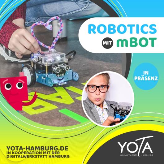 Workshop: Robotics mit mBot   21.08.2021    10:00 - 13:00 Uhr