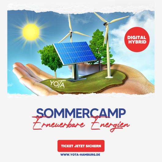 Sommercamp: Erneuerbare Energien | 26.07. - 30.07.2021
