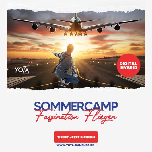 Sommercamp: Faszination Fliegen | 19. - 23. Juli 2021