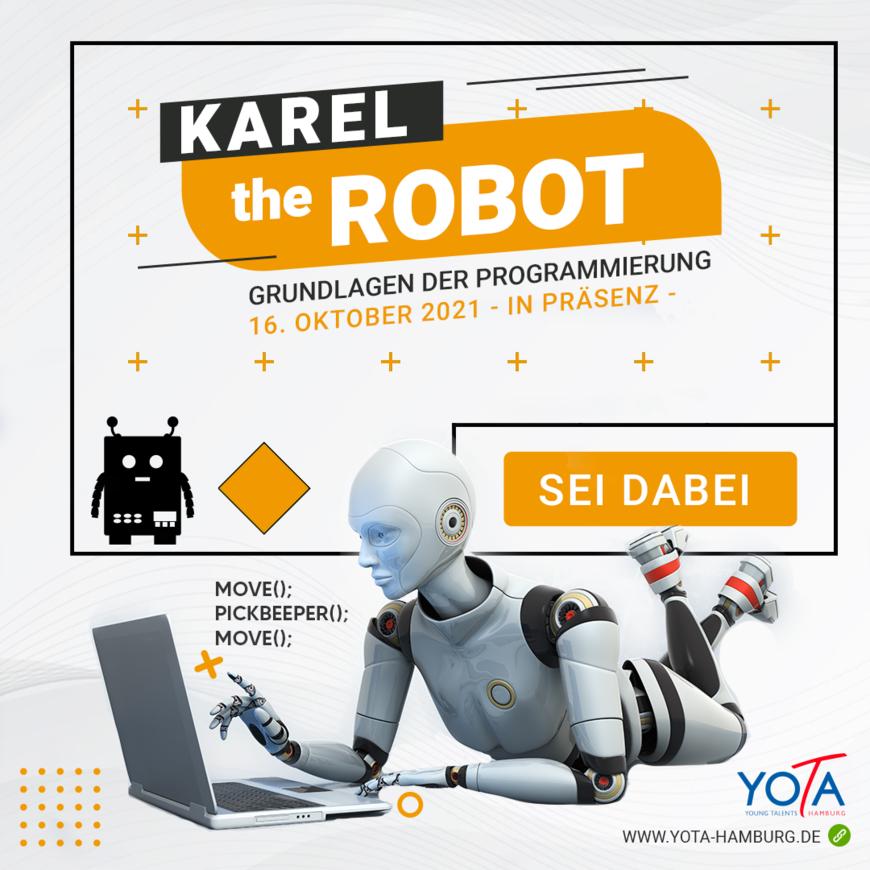 Programmieren: Karel the Robot - MDA | 16.10.2021 | 10:00 - 15:00 Uhr