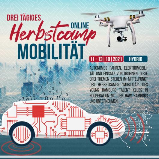 Online: Herbstcamp Mobilität | 11. - 13.10.2021 | 10:00 - 14:00 Uhr