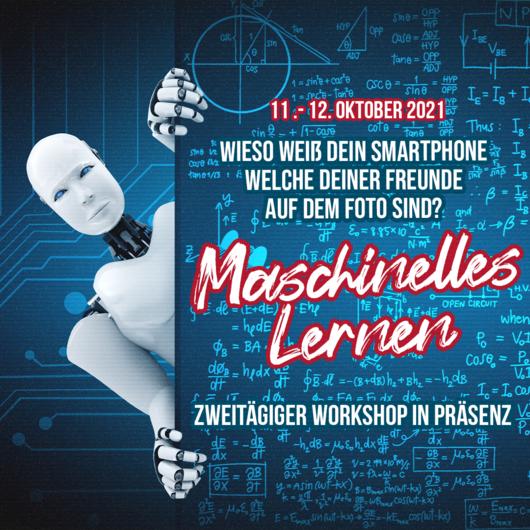 Workshop: Maschinelles Lernen   11. - 12.10.2021   09:00 - 16:00 Uhr