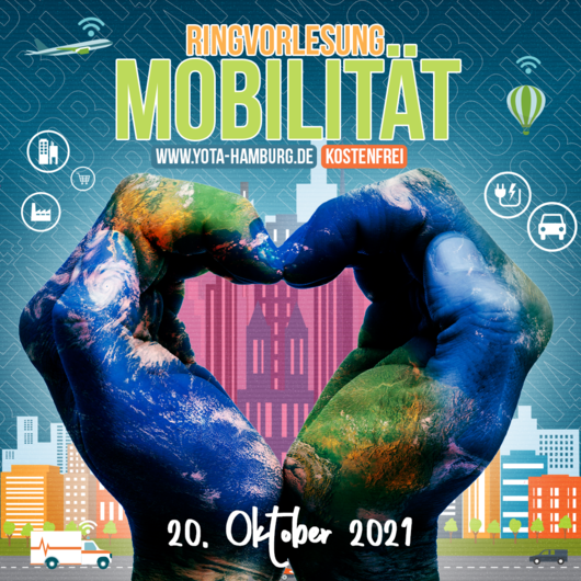 Zukunft der Arbeit: Ringvorlesung Mobilität | 20.10.2021 | 18:00 - 19:00 Uhr