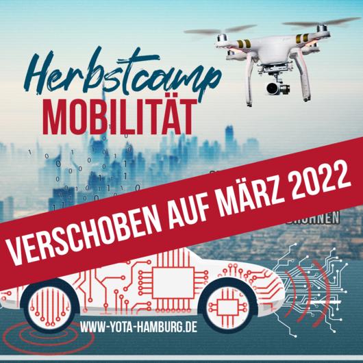 Online: Herbstcamp Mobilität   Verschoben auf März 22