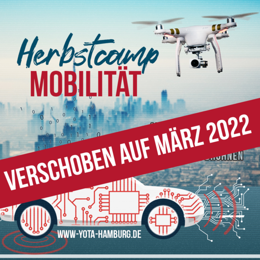 Herbstcamp: Mobilität Vorort   Verschoben auf März 22