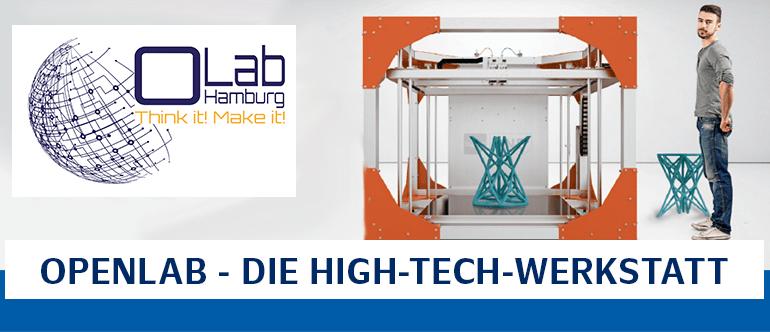 OpenLAB - die High-Tech-Werkstatt Angebote im OpenLab vom Laboratorium Fertigungstechnik an der Helmut-Schmidt-Universität